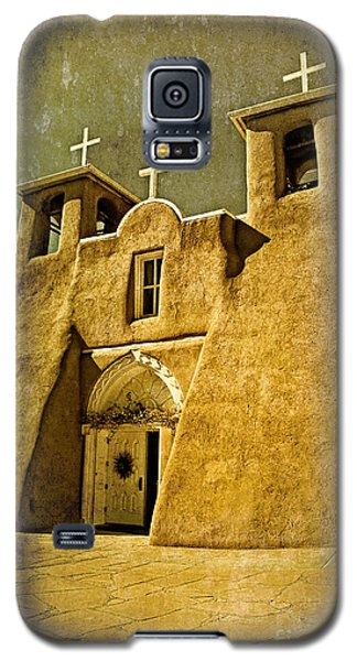 Ranchos Church In Old Gold Galaxy S5 Case