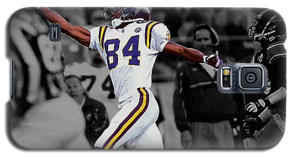 Randy Moss Galaxy S5 Case by Brian Reaves