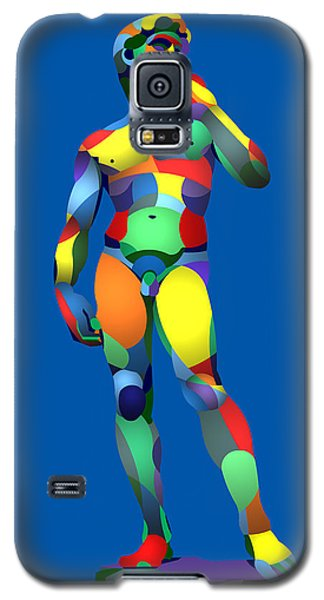 Galaxy S5 Case featuring the digital art Randy's David Blue by Randall Henrie