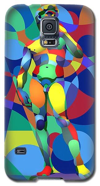 Galaxy S5 Case featuring the digital art Randy's David by Randall Henrie