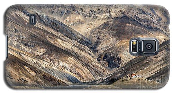 Rangdum Monastery, Rangdum, 2006 Galaxy S5 Case by Hitendra SINKAR