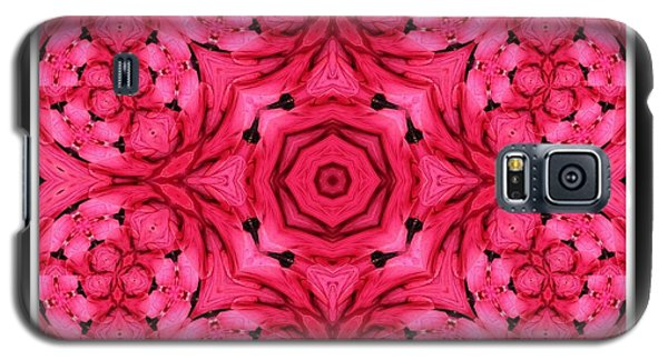 Galaxy S5 Case featuring the photograph Ranunculus Flower Warp by Rose Santuci-Sofranko
