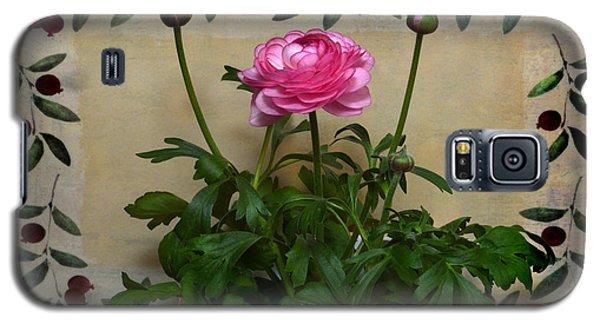Ranunculus  Still Life. Galaxy S5 Case