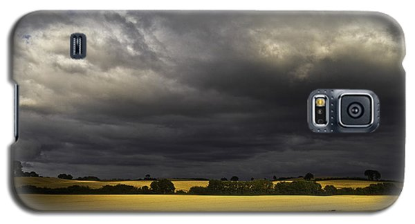 Rapefield Under Dark Sky Galaxy S5 Case by Heiko Koehrer-Wagner
