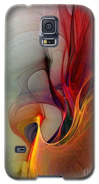 Rapture Of The Deep-abstract Art Galaxy S5 Case