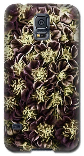 Galaxy S5 Case featuring the photograph Raspberry Circles by Jean OKeeffe Macro Abundance Art