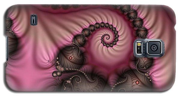 Galaxy S5 Case featuring the digital art Raspberry Ice Cream For Breakfast by Gabiw Art