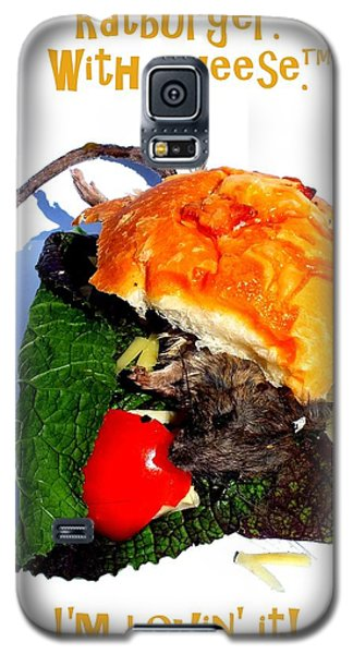 Ratburger With Cheese Galaxy S5 Case