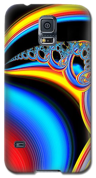 Raven Dreaming By The Fire Galaxy S5 Case by Wendy J St Christopher