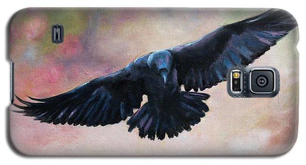 Raven In Flight Galaxy S5 Case