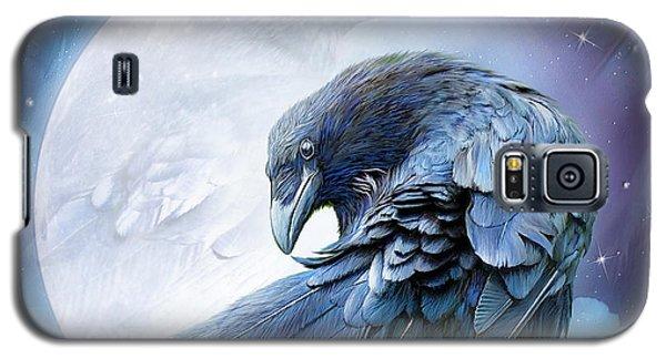 Raven Moon Galaxy S5 Case