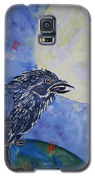 Raven Speak Galaxy S5 Case by Ellen Levinson