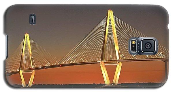 Ravenel Bridge At Dusk Galaxy S5 Case