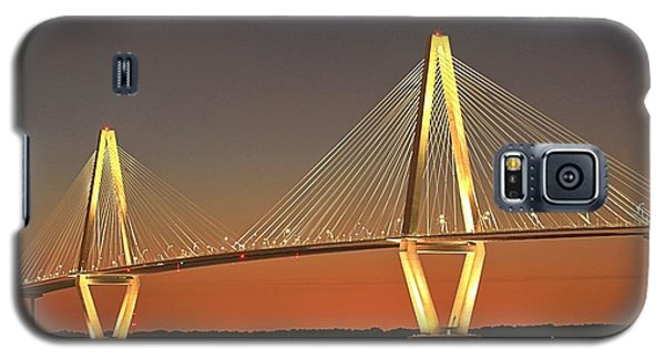 Ravenel Bridge At Dusk Galaxy S5 Case