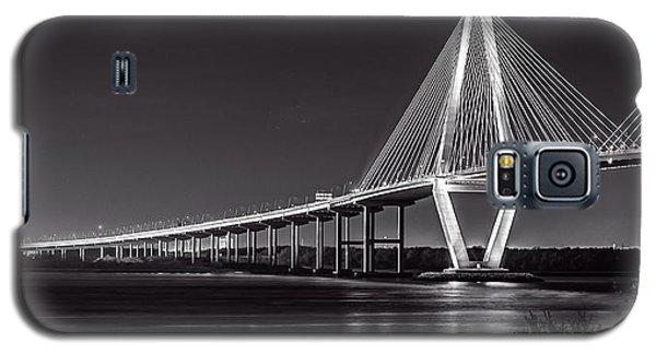 Ravenel Bridge At Night Galaxy S5 Case