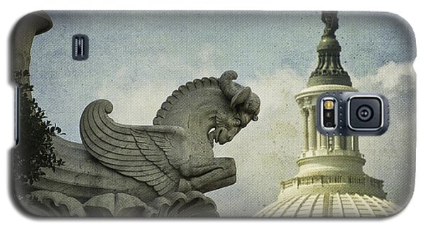 Rayburn Gargoyle Galaxy S5 Case by Terry Rowe