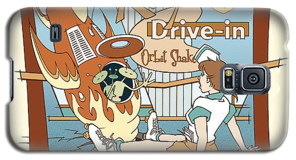 Ray's Drive-in - Brunette Sepia Galaxy S5 Case