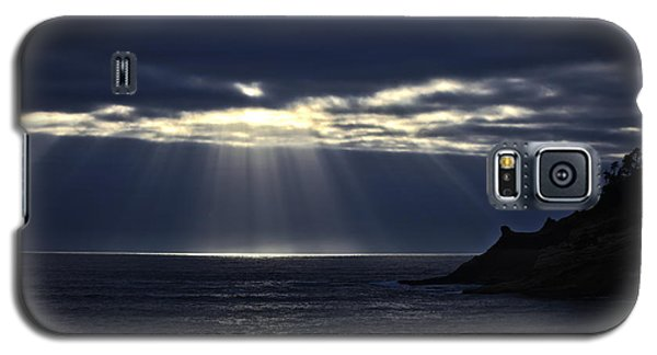 Rays Of Hope At Cape Kiwanda Oregon Galaxy S5 Case