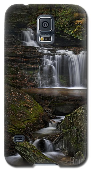 Galaxy S5 Case featuring the photograph Rb Ricketts Falls by Roman Kurywczak