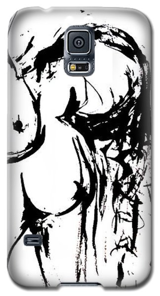Galaxy S5 Case featuring the drawing Reach by Helen Syron