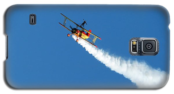 Reaching For The Moon. Oshkosh 2012. Postcard Border. Galaxy S5 Case by Ausra Huntington nee Paulauskaite