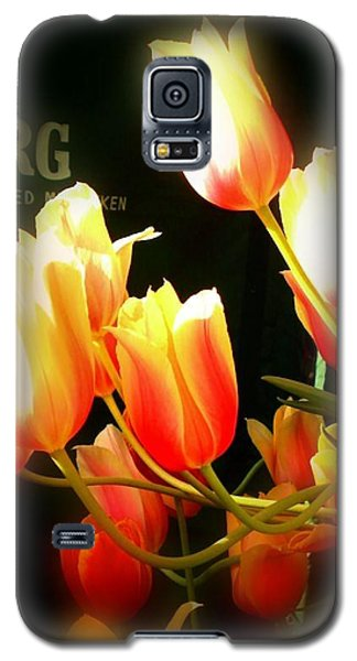 Galaxy S5 Case featuring the photograph Reaching For The Sun by Peggy Stokes