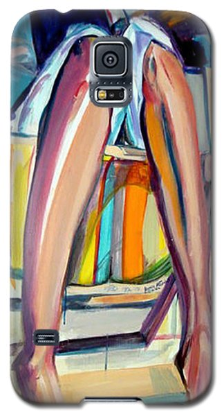 Galaxy S5 Case featuring the painting Read On by Ecinja Art Works