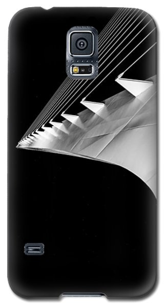 Reading A Sundial At Midnight Galaxy S5 Case by Alex Lapidus