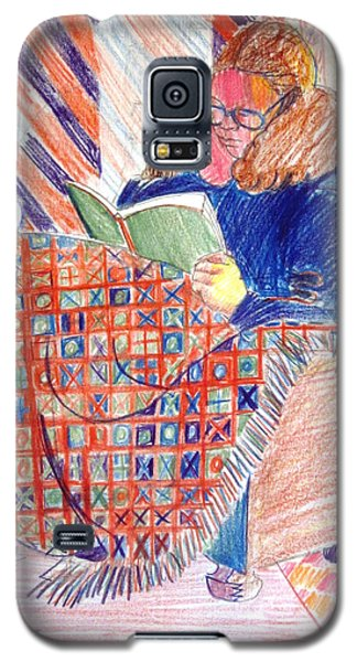 Reading In A Warm Chair Galaxy S5 Case