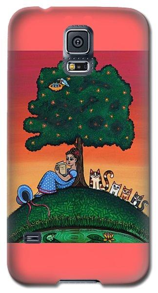 Reading Jane Galaxy S5 Case