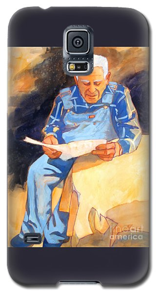 Reading Time Galaxy S5 Case by Kathy Braud