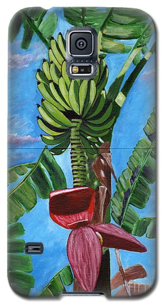 Galaxy S5 Case featuring the painting Ready For Harvest by Laura Forde