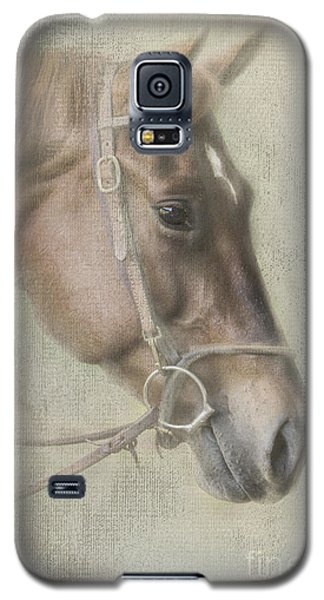 Galaxy S5 Case featuring the photograph Ready To Ride by Linda Blair
