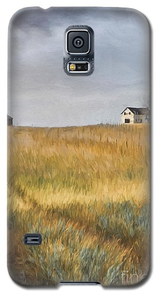 Old Farmhouse On The Hill/ Digital Painting Galaxy S5 Case