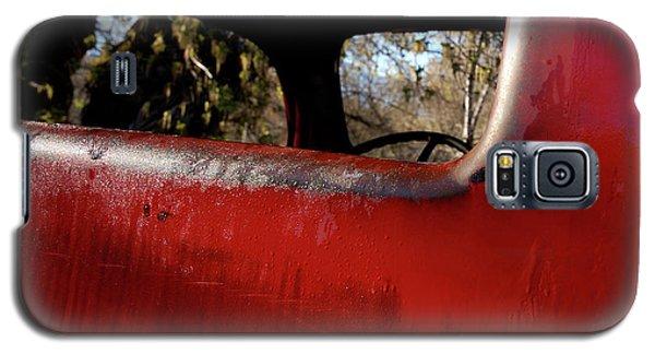 Rear View - Vintage Dodge Truck Galaxy S5 Case