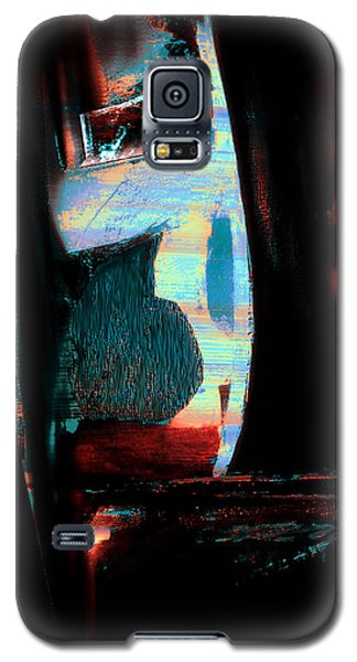Galaxy S5 Case featuring the painting Reasons- Ewf Series 5 by Yul Olaivar