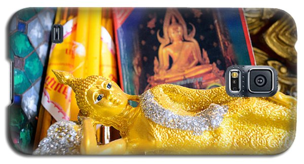 Galaxy S5 Case featuring the photograph Reclining Buddha by Dean Harte