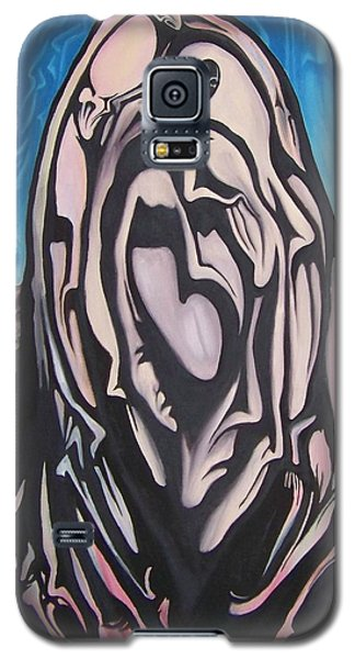 Galaxy S5 Case featuring the painting Recluse by Michael  TMAD Finney