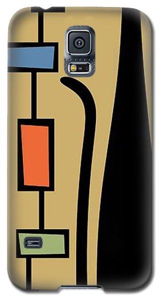Rectangle Cat Galaxy S5 Case