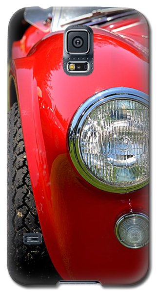 Galaxy S5 Case featuring the photograph Red Ac Cobra by Dean Ferreira