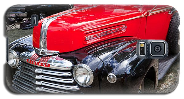 Galaxy S5 Case featuring the photograph Red And Black Mercury Pick Up by Mick Flynn