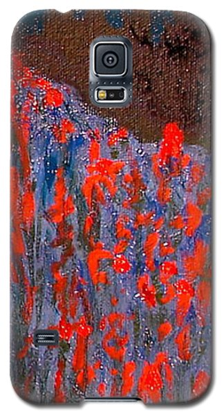 Red And Blue Washington State Galaxy S5 Case by Joseph Hawkins