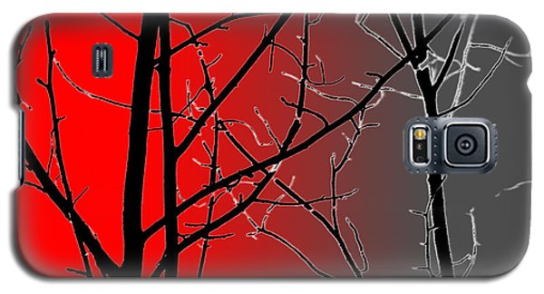 Red And Gray Galaxy S5 Case