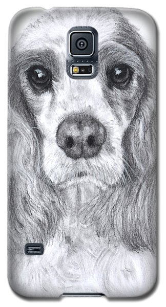 Red And White Cocker Spaniel Galaxy S5 Case