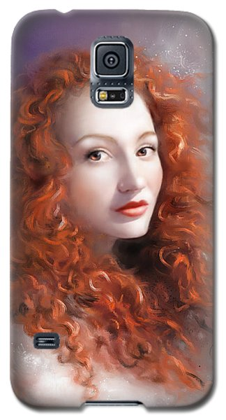 Red Autumn Galaxy S5 Case by S G
