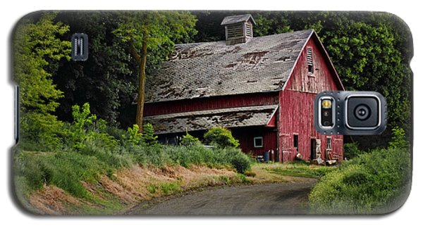 Red Barn - County Road  Galaxy S5 Case