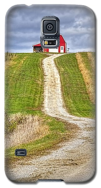 Red Barn On The Hill Galaxy S5 Case