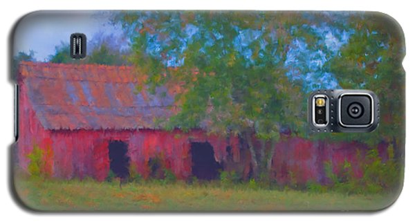 Red Barn Seven Galaxy S5 Case by Ken Frischkorn
