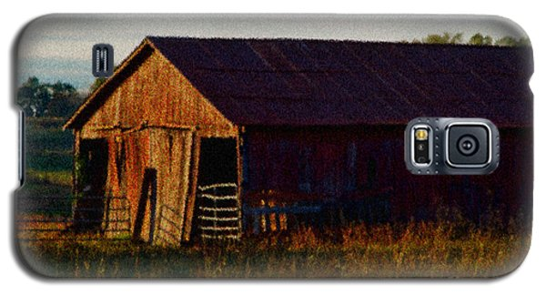 Red Barn Twelve Galaxy S5 Case by Ken Frischkorn