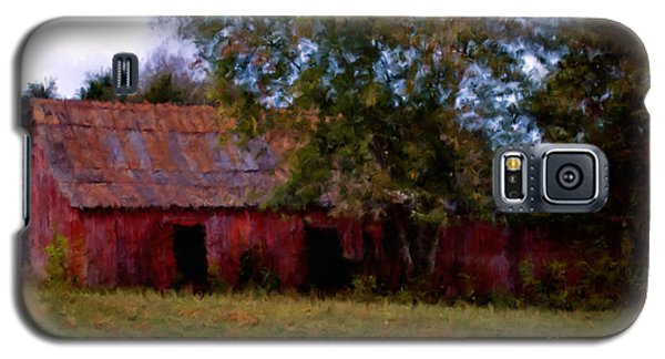 Red Barn Two Galaxy S5 Case by Ken Frischkorn
